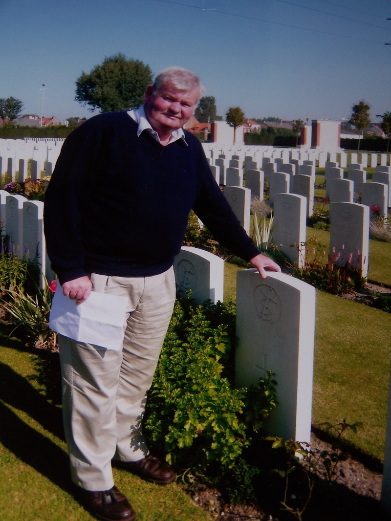 finding Relatives war graves something he all ways wanted to do